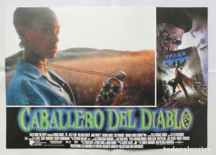 Cine: CABALLERO DEL DIABLO , PROSPECTO DE PELÍCULA - Foto 11 - 191120318