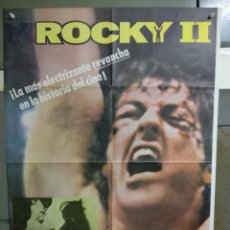 Cine: AAC87 ROCKY 2 SYLVESTER STALLONE CARL WEATHERS POSTER ORIGINAL 70X100 ESPAÑOL R-81. Lote 191147466