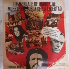 Cine: CARTEL / PÓSTER CINE EL CHE GUEVARA. ORIGINAL.. Lote 191192502