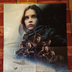 Cine: POSTER STAR WARS ROGUE ONE + THE FLASH. Lote 191203920