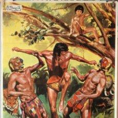 Cine: TARZÁN Y EL ARCO IRIS. CARTEL ORIGINAL 1972. 70X100. Lote 191240772