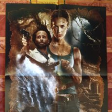 Cine: POSTER TOMB RAIDER + THE MAGICIANS. Lote 191290113