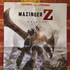 Cine: POSTER MAZINGER Z + EL CORREDOR DEL LABERINTO. Lote 191290413