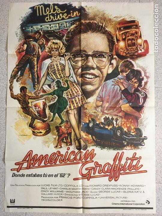 AMERICAN GRAFFITI (Cine - Posters y Carteles - Comedia)