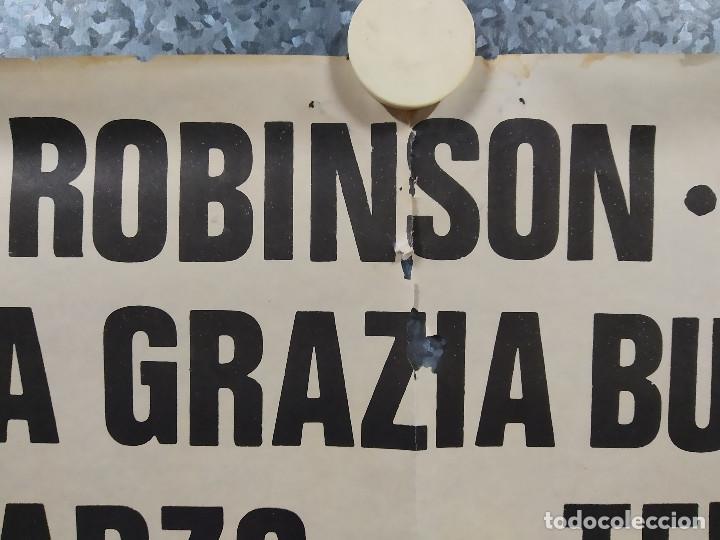 Cine: Un atraco de ida y vuelta. Edward G. Robinson, Adolfo Celi, Maria Grazia Buccella. POSTER ORIGINAL - Foto 3 - 191492320