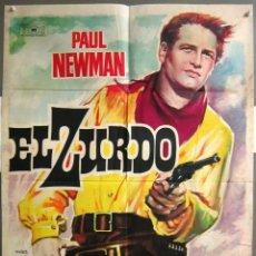 Cine: ZD98D EL ZURDO PAUL NEWMAN MAC POSTER ORIGINAL ESTRENO 70X100. Lote 191579781