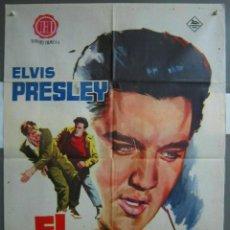 Cine: ZG32D EL INDOMITO ELVIS PRESLEY JANO POSTER ORIGINAL 70X100 ESTRENO. Lote 191603726