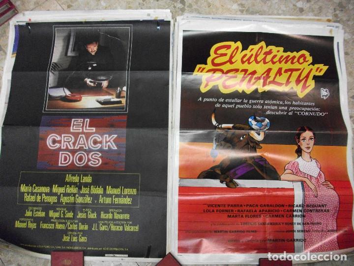 Cine: 35 CARTELES DE CINE ESPAÑOL 100 X 70 CM. CARTEL AÑOS 80-70 - Foto 8 - 191621367