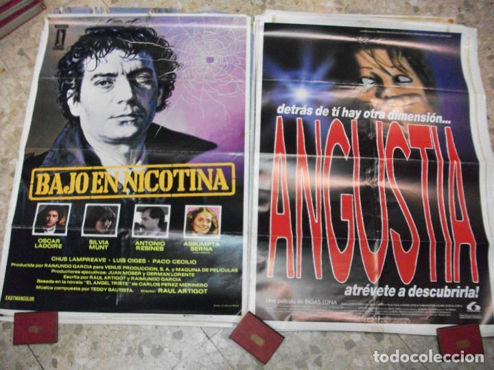 Cine: 35 CARTELES DE CINE ESPAÑOL 100 X 70 CM. CARTEL AÑOS 80-70 - Foto 16 - 191621367