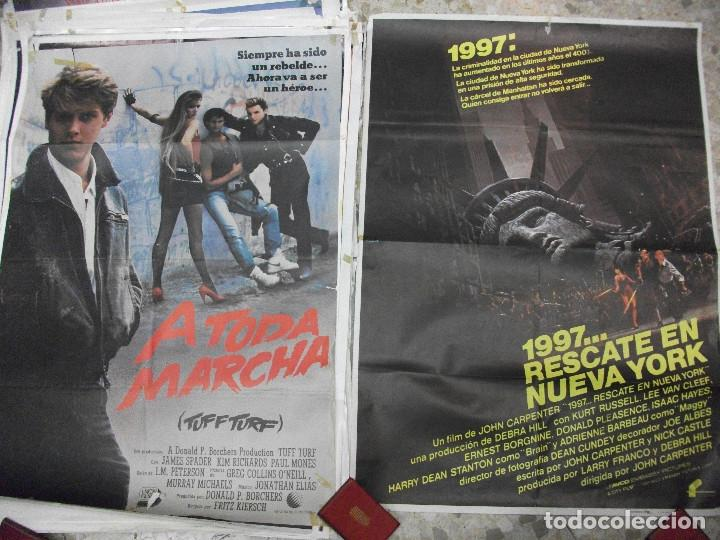 84 CARTELES DE CINE EXTRANJERO 100 X 70 CM. CARTEL AÑOS 80-70 (Cine - Posters y Carteles - Clasico Español)
