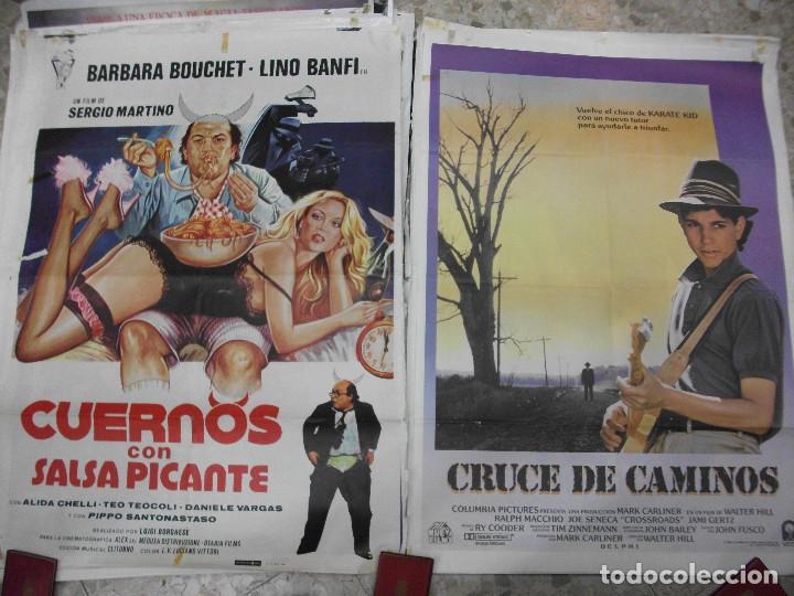 Cine: 84 CARTELES DE CINE EXTRANJERO 100 X 70 CM. CARTEL AÑOS 80-70 - Foto 6 - 191621966
