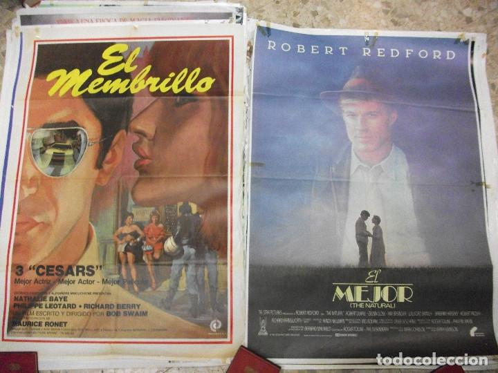 Cine: 84 CARTELES DE CINE EXTRANJERO 100 X 70 CM. CARTEL AÑOS 80-70 - Foto 11 - 191621966