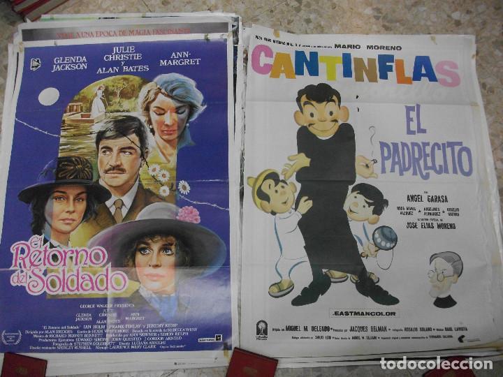 Cine: 84 CARTELES DE CINE EXTRANJERO 100 X 70 CM. CARTEL AÑOS 80-70 - Foto 12 - 191621966