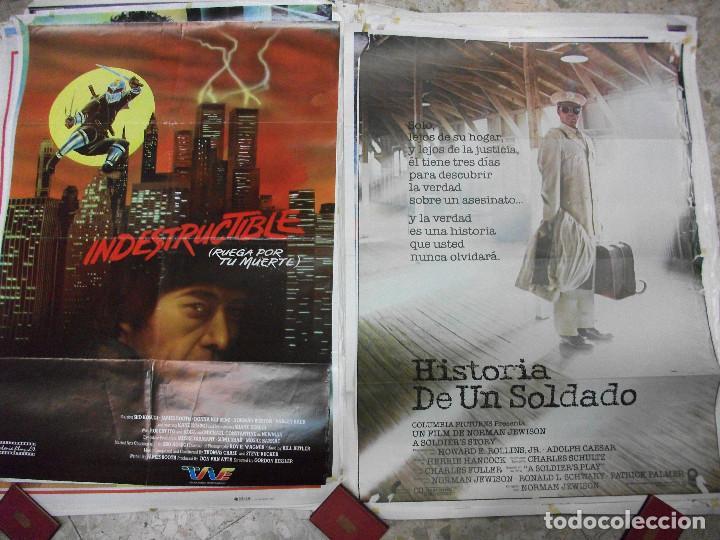 Cine: 84 CARTELES DE CINE EXTRANJERO 100 X 70 CM. CARTEL AÑOS 80-70 - Foto 16 - 191621966