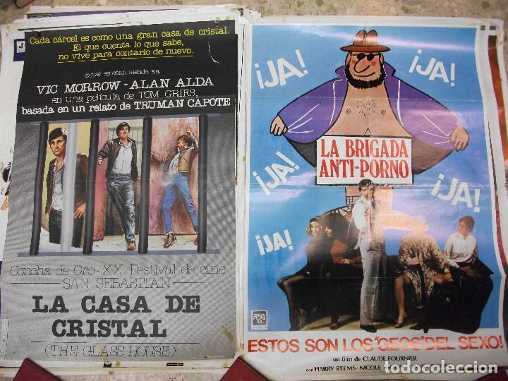 Cine: 84 CARTELES DE CINE EXTRANJERO 100 X 70 CM. CARTEL AÑOS 80-70 - Foto 19 - 191621966