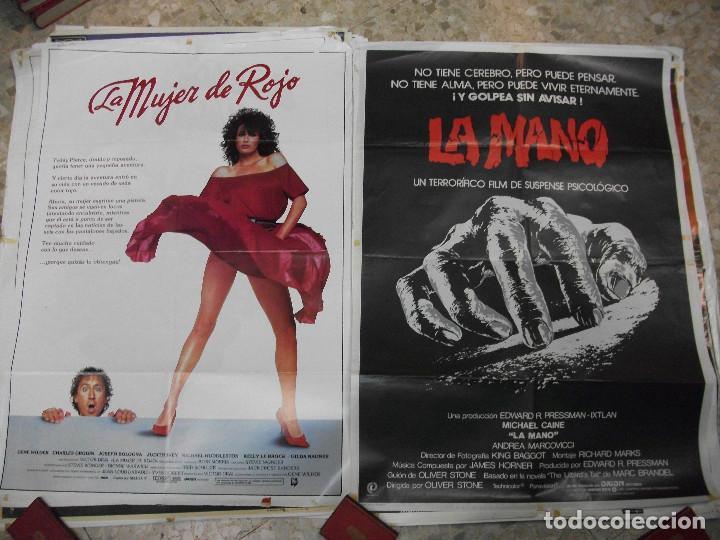Cine: 84 CARTELES DE CINE EXTRANJERO 100 X 70 CM. CARTEL AÑOS 80-70 - Foto 21 - 191621966