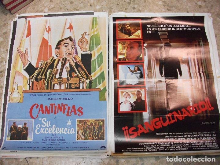 Cine: 84 CARTELES DE CINE EXTRANJERO 100 X 70 CM. CARTEL AÑOS 80-70 - Foto 35 - 191621966