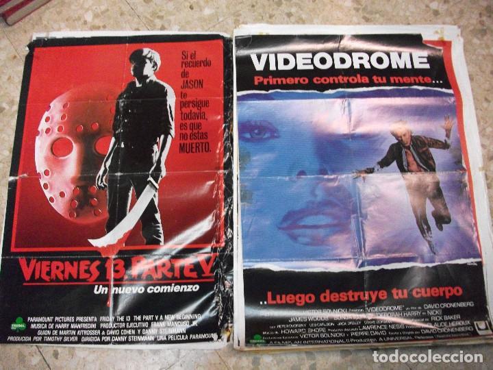 Cine: 84 CARTELES DE CINE EXTRANJERO 100 X 70 CM. CARTEL AÑOS 80-70 - Foto 41 - 191621966