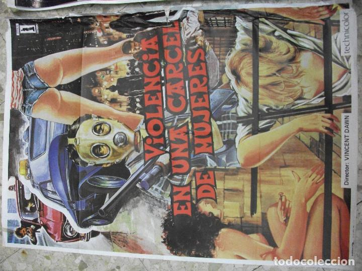 Cine: 84 CARTELES DE CINE EXTRANJERO 100 X 70 CM. CARTEL AÑOS 80-70 - Foto 42 - 191621966