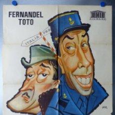 Cine: LA LEY ES LA LEY, FERNANDEL, TOTO - AÑO 1958. Lote 191713175