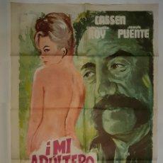 Cine: CARTEL CINE MI ADULTERO ESPOSO CASSEN 1975 EMERIO C 547. Lote 191730682