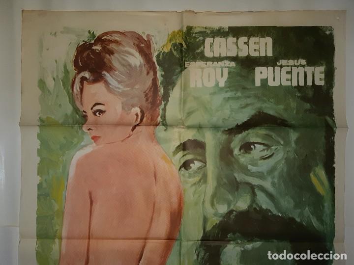Cine: CARTEL CINE MI ADULTERO ESPOSO CASSEN 1975 EMERIO C 547 - Foto 2 - 191730682