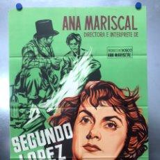 Cine: SEGUNDO LOPEZ AVENTURERO URBANO, ANA MARISCAL, TONY LEBLANC - LITOGRAFIA - AÑO 1953 - JANO. Lote 191871861