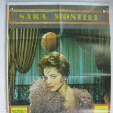 Cine: LA REINA DEL CHANTECLER - POSTER CARTEL ORIGINAL - SARA MONTIEL RAFAEL GIL ALBERTO DE MENDOZA. Lote 191882597