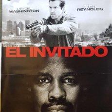 Cine: OFERTA ESPECIAL - EL INVITADO - ORIGINAL - 68CM X 98CM. Lote 191932218