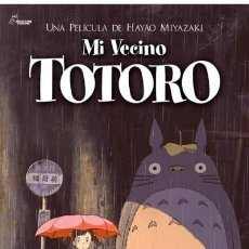 Cine: MI VECINO TOTORO (POSTER). Lote 210029013