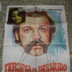 Cine: TERAPIA AL DESNUDO. CARMEN SEVILLA, JOSE Mª IÑIGO, RAMIRO OLIVEROS. AÑO 1976. Lote 192166292