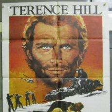Cine: AAD89 EL HEREDERO DEL BILLON DE DOLARES TERENCE HILL POSTER ORIGINAL 70X100 ESTRENO. Lote 192168022