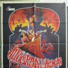 Cine: AAD85 ALFOMBRAS MAGICAS CHRISTOPHER LEE OLIVER TOBIAS POSTER ORIGINAL 70X100 ESTRENO. Lote 192170765