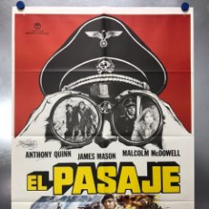 Cine: EL PASAJE. ANTHONY QUINN, JAMES MASON, MALCOLM MCDOWELL. AÑO 1979. Lote 192417711