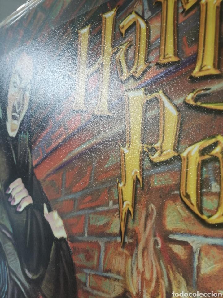 Cine: HARRY POTTER. ORIGINAL PRIMERA EDICIÓN 2001. Repro Pintura Grande - Foto 4 - 192439258