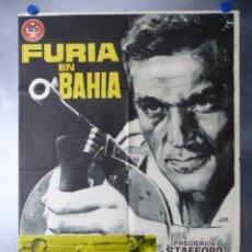Cine: FURIA EN BAHIA, FREDERICK STAFFORD, MYLENE DEMONGEOT, AÑO 1965. Lote 192463947