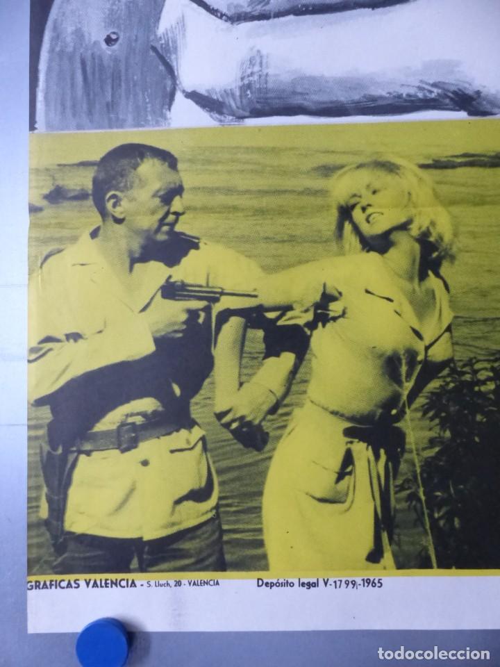 Cine: FURIA EN BAHIA, FREDERICK STAFFORD, MYLENE DEMONGEOT, AÑO 1965 - Foto 3 - 192463947