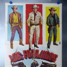 Cine: LOS FORAJIDOS, JOAQUIN CORDERO, FERNANDO CORTES, AÑO 1964. Lote 192464460