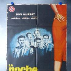 Cine: LA NOCHE DE LOS MARIDOS, DON MURRAY, E.G.MARSHALL, JACK WARDEN, AÑO 1961. Lote 192465142