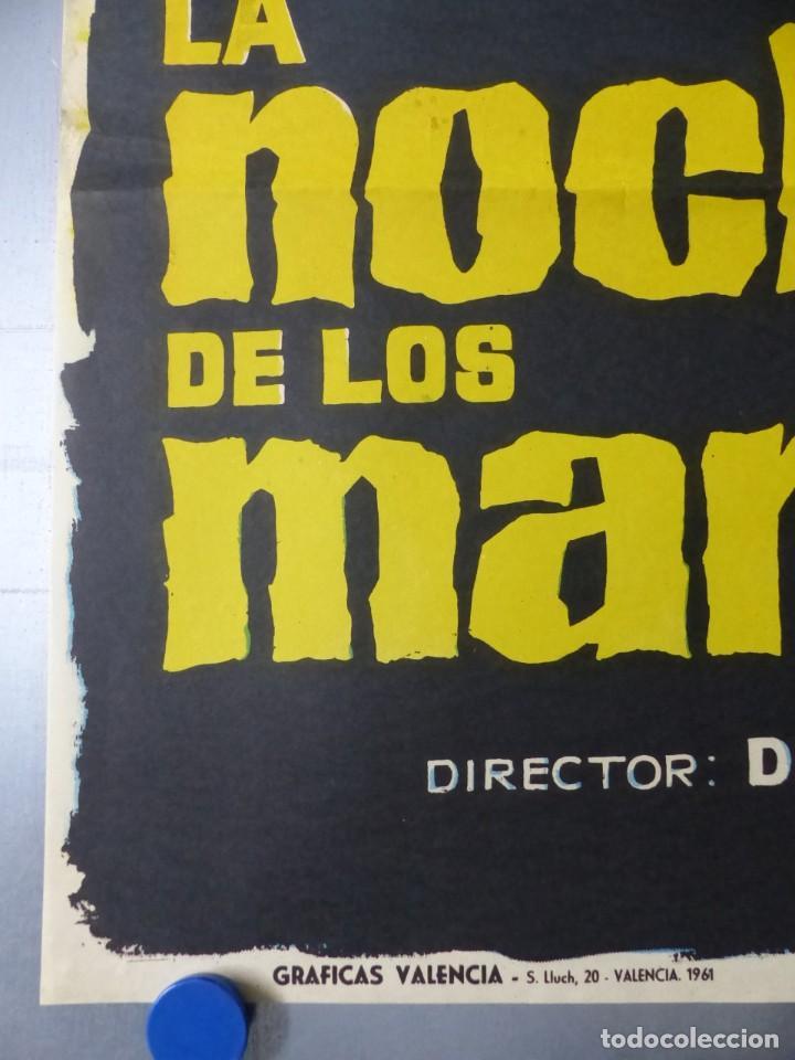 Cine: LA NOCHE DE LOS MARIDOS, DON MURRAY, E.G.MARSHALL, JACK WARDEN, AÑO 1961 - Foto 3 - 192465142