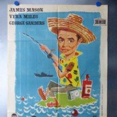 Cine: OPERACION ROBINSON, JAMES MASON, VERA MILES, AÑO 1961. Lote 192465881