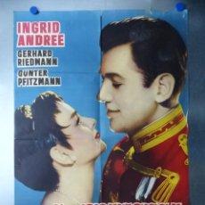 Cine: PRINCESA Y EL CAPITAN, INGRID ANDREE, GERHARD RIEDMANN. Lote 192466335
