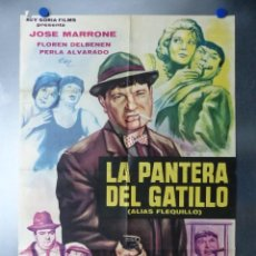 Cine: LA PANTERA DEL GATILLO, JOSE MARRONE, AÑO 1965. Lote 192468528