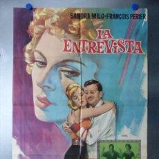 Cine: LA ENTREVISTA, SANDRA MILO, FRANÇOIS PERIER, AÑO 1967. Lote 192469393
