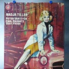 Cine: EL ESCANDALO ROSEMARIE, NADJA TILLER, PETER VAN EYCK, AÑO 1963. Lote 192469807