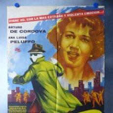 Cine: EL HOMBRE QUE LOGRO SER INVISIBLE, ARTURO DE CORDOVA, ANA LUISA PELUFFO, AÑO 1961. Lote 192470061