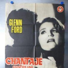 Cine: CHANTAJE CONTRA UNA MUJER, GLENN FORD, LEE REMICK, BLAKE EDWARDS, AÑO 1962. Lote 192473931