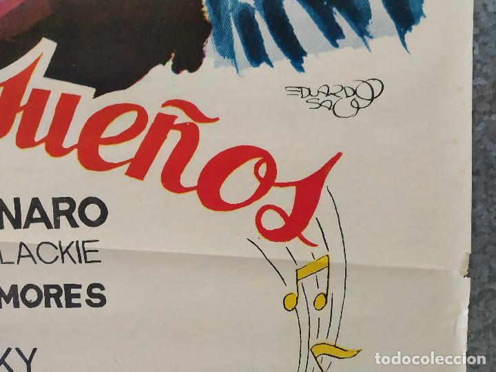 Cine: LA CALLE DE LOS SUEÑOS. MARIANO MORES, YEYA DUCIEL . AÑO 1965. POSTER ORIGINAL - Foto 6 - 192579922