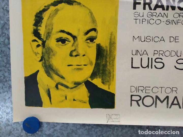 Cine: LA CALLE DE LOS SUEÑOS. MARIANO MORES, YEYA DUCIEL . AÑO 1965. POSTER ORIGINAL - Foto 9 - 192579922