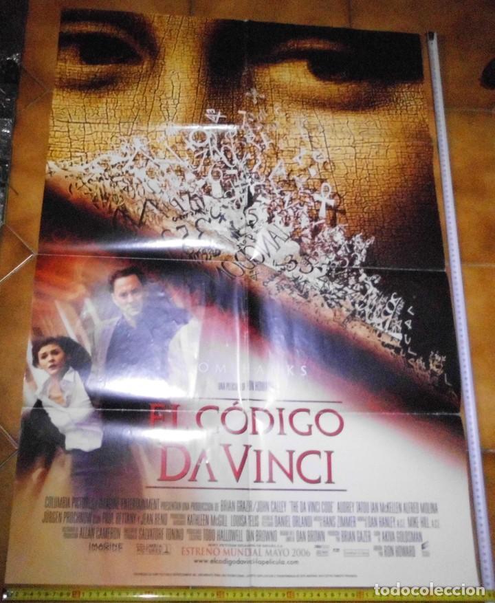 Cine: CARTEL PELICULA, EL CODIGO DA VINCI - Foto 2 - 192668823